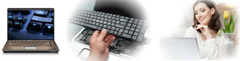 Этапы замены клавиатуры ноутбука