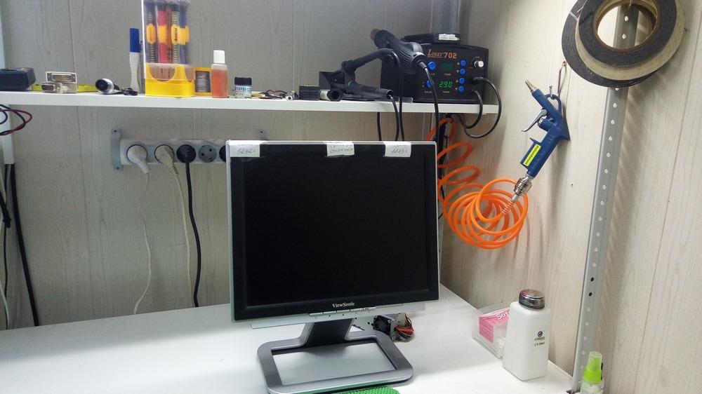 ремонт LCD монитора - Рязань